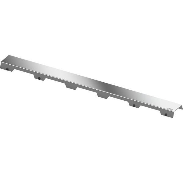 Designrost steel II 800 mm aus Edelstahl gebürstet, für TECE Duschrinne gerade - Bild 1