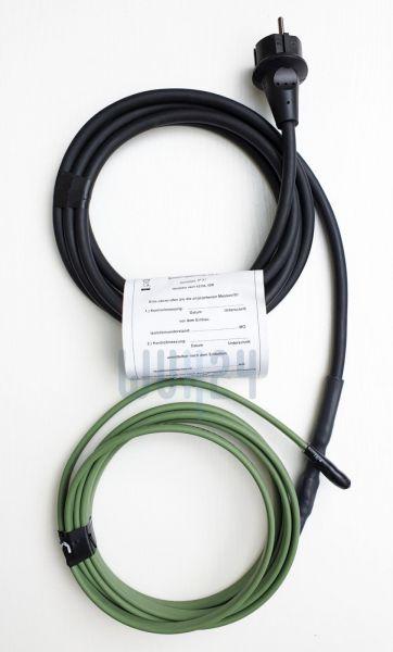 bamaheat Heizband KS10-FA5 Länge 5m IP65 selbstbegrenzend mit Schukostecker 8000-30.55 - Bild 1