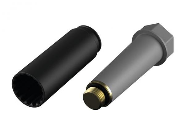 TECE Seal System Baustopfen 1/2'' mit Metallgewinde 704802 - Bild 1