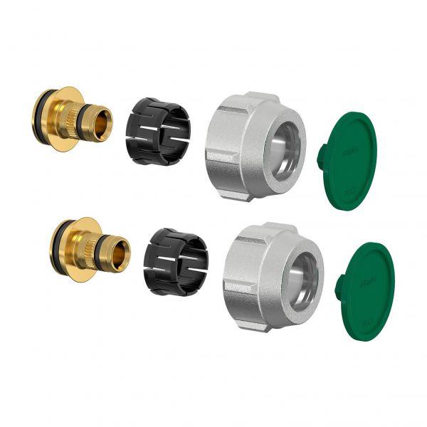 Simplex Klemmverschraubung-Set A3 16x2mm x G3/4i Eurokonus, für Kunststoff-/Metallverbundrohre - Bild 1