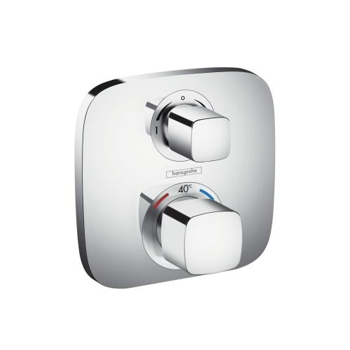 hansgrohe thermostat up ecostat e fertigset 2 verchromt 15708000 wuh24 online shop f r bad. Black Bedroom Furniture Sets. Home Design Ideas