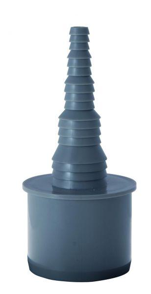 Airfit HT-Schlauchnippel DN 50 x 25-8 mm kürzbar 50011SN - Bild 1