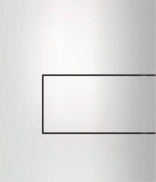 TECEsquare Urinal-Betätigungsplatte aus Metall weiss 9242812 - Bild 1