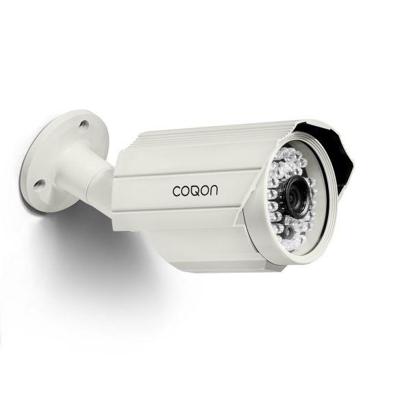 COQON Videokamera für den Außenbereich IP/Festes Objektiv/720 dpi AVL0720F - Bild 1