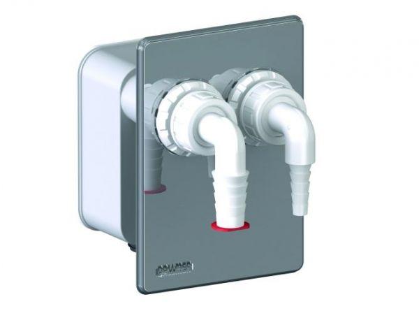 Dallmer Anschlussset Waschgeräte-Siphon 400 Vario.2 Nr. 140425, Bausatz 2 für Einbaugehäuse - Bild 1