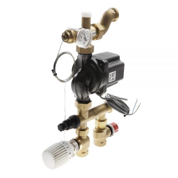 TECEfloor Festwertregelung 20-55 Grad C mit Thermostatkopf und Vorlauffühler 77450000 - Bild 1