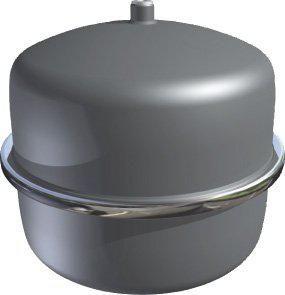 Logafix Ausdehnungsgefäß BU-S 18 Liter für Solar max. 6 bar, silber 7738323762 - Bild 1