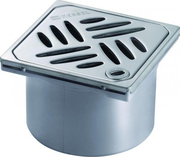 Kessel Aufsatzstück Designrost Lock&Lift V2A 120x120 mm Klasse L15 Nr. 48201 - Bild 1