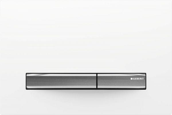 Geberit Betätigungsplatte Sigma50 für 2-Mengen-Spülung weiß 115.788.11.2 - Bild 1