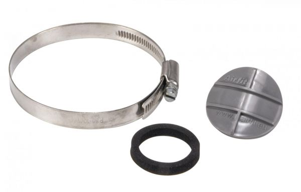 Airfit Reparaturstopfen mit Schelle für Abflussrohre DN 110 Nr. 45110RS - Bild 1