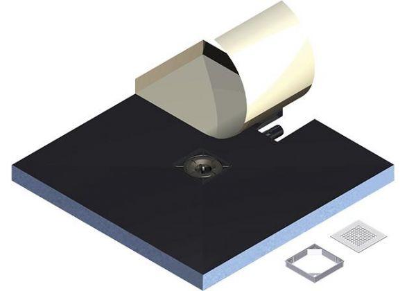 Kermi Komplettboard Point E65 090120 L 900 x B 1200 x H 65 mm - Bild 2