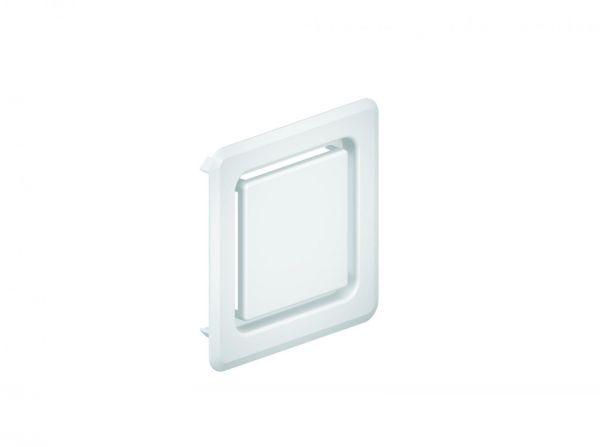 Dallmer DallVent WE Abdeckung für Rohrbelüfter weiß 120 x 120 mm 850041 - Bild 1