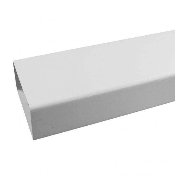 IKM Zwischenstück weiss 1000 mm rechteckiger Querschnitt 180x95 mm 34030100 - Bild 1