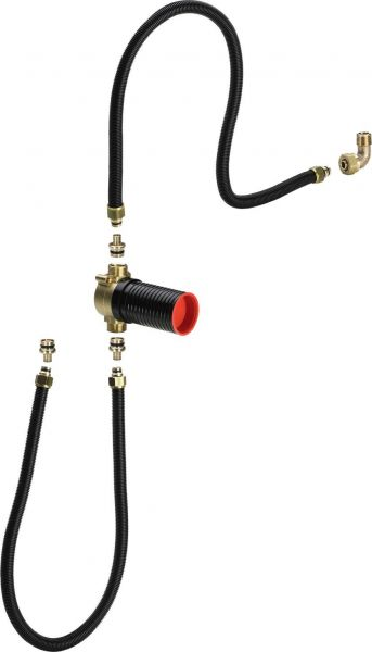 Viega Anschlussgarnitur 6161.86 mit UP-Rohrunterbrecher 273583 für Multiplex-/Rotaplex-Trio - Bild 1