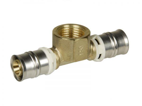 Übergangs-T-Stück Alpex F50 Profi 32mm x 1/2 IG x 32mm'' ALPUT3215I - Bild 1