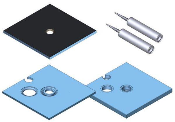 Kermi Board Point EUM 180090 L 1800 x B 900 x H 130 mm - Bild 2