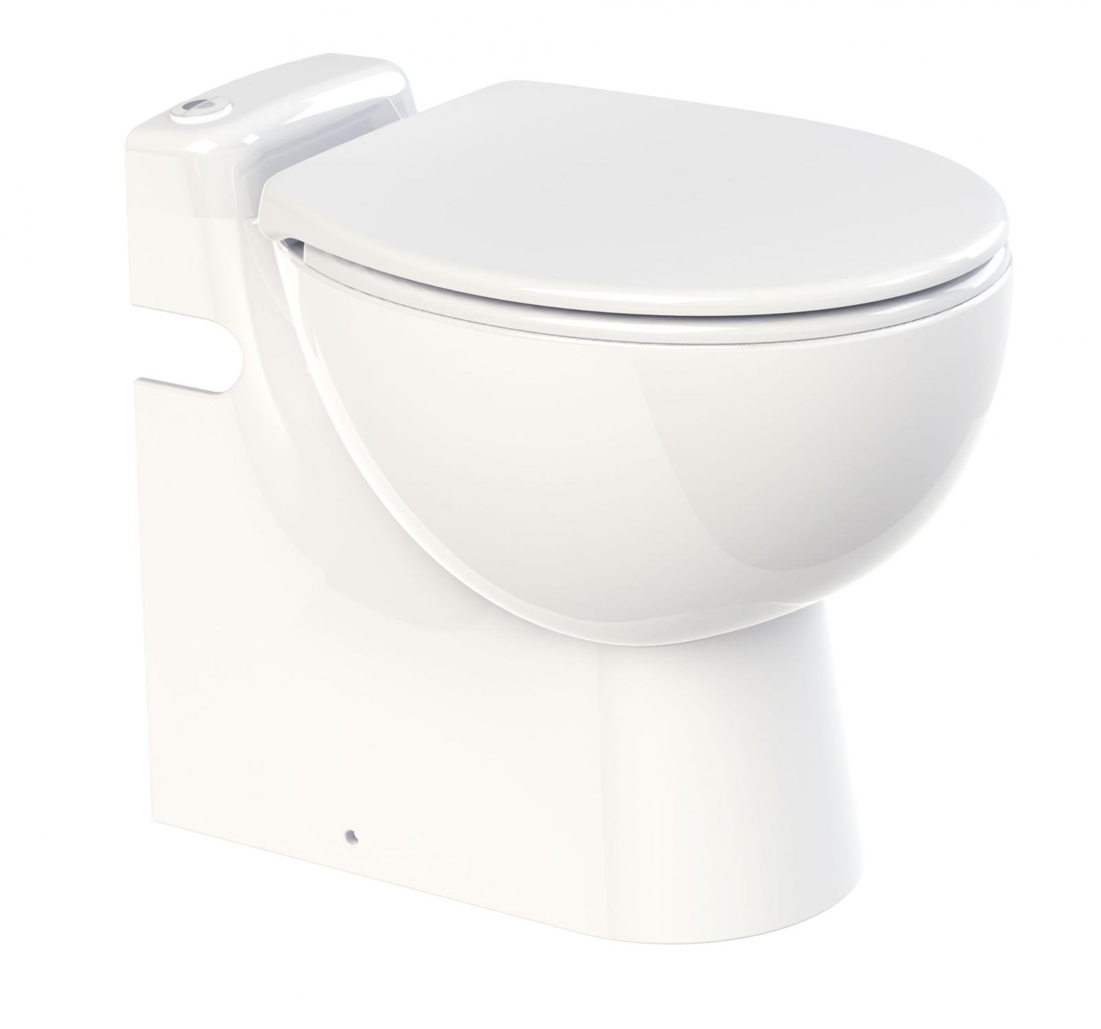 sfa sanicompact pro stand wc incl wc sitz mit integrierter hebeanlage mit wt anschluss 0011. Black Bedroom Furniture Sets. Home Design Ideas