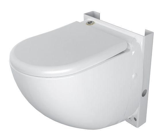 SFA Sanicompact Comfort Wand-WC incl. WC-Sitz mit integrierter Hebeanlage 0044 - Bild 1