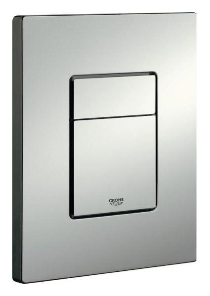 Grohe Skate Cosmopolitan WC-Betätigungsplatte mattchrom, senkrecht/waagerecht 38732P00 - Bild 1
