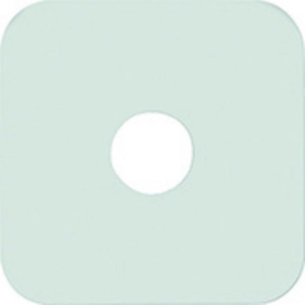 Nikles Rosette Quadratisch 80x80 mm für Wandanschlussbogen - Bild 1