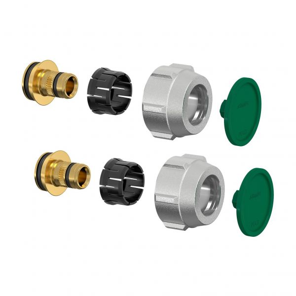 Simplex Klemmverschraubung-Set A3 16x2,2mm x G3/4i Eurokonus, für Kunststoff-/Metallverbundrohre - Bild 1