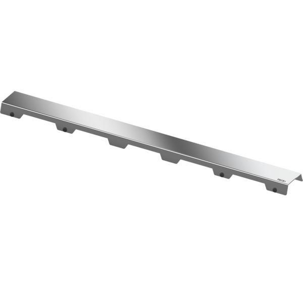 TECEdrainline Designrost steel II 900 mm aus Edelstahl poliert 600982 - Bild 1