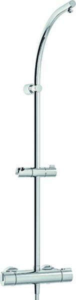Nikles Duschsystem Techno mit Thermostat verchromt, ohne Kopf- und Handbrause A65TH.00.000T05N - Bild 1