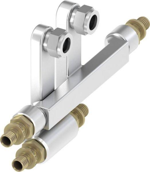 TECEflex SLHK-Anschlussgarnitur 16 x 20 x 15 mm Cu 730125 - Bild 1