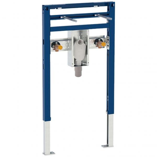 Geberit Duofix Waschtisch Element BH 820/980 mm mit UP-Geruchsverschluss barrierefrei 111.489.00.1 - Bild 1