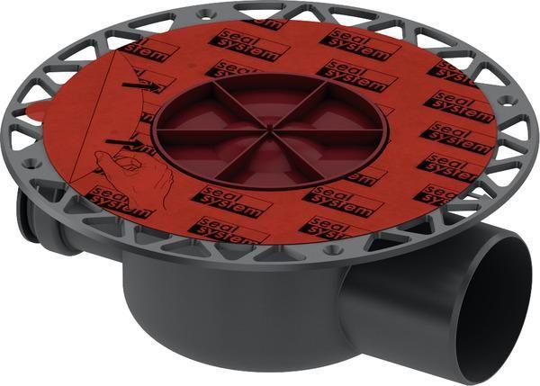 TECEdrainpoint S Ablauf DN 70 waagerecht mit Seal System Universalflansch 3603500 - Bild 1
