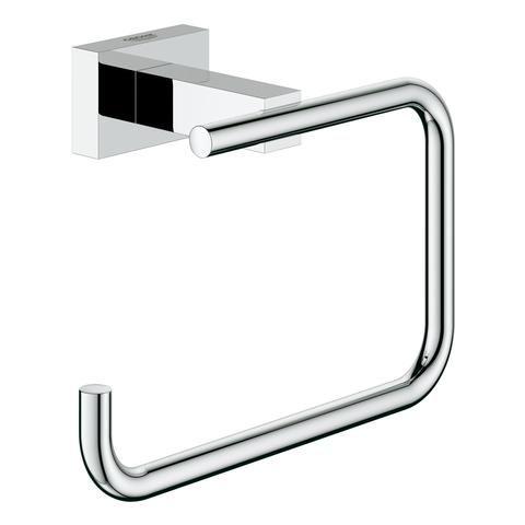 Grohe WC-Papierhalter Essentials Cube 40507 ohne Deckel chrom 40507001 - Bild 1